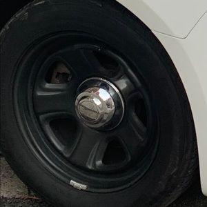 Police rims & tires